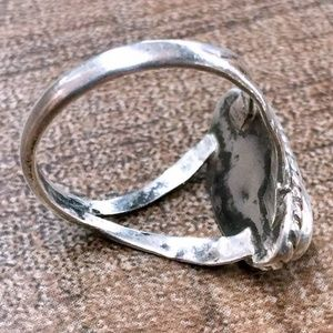 Vintage Jewelry - 5 • Vintage 40s NA Turquoise Sterling Silver Ring